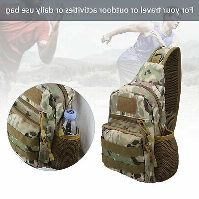Men Sling Chest Shoulder Bag Hiking
