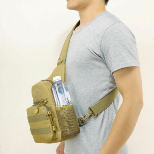 Men Sling Bag Outdoor Hiking Travel