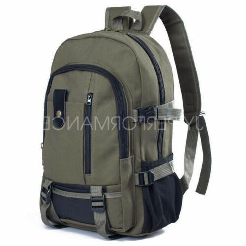Men Backpack Rucksack Travel Hiking Laptop Notebook