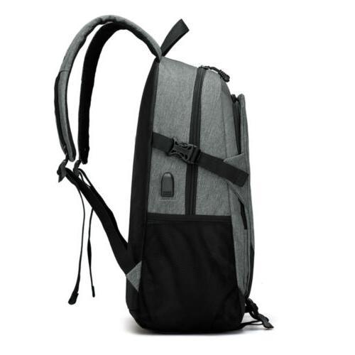 Men Laptop Travel Charging College School Bag