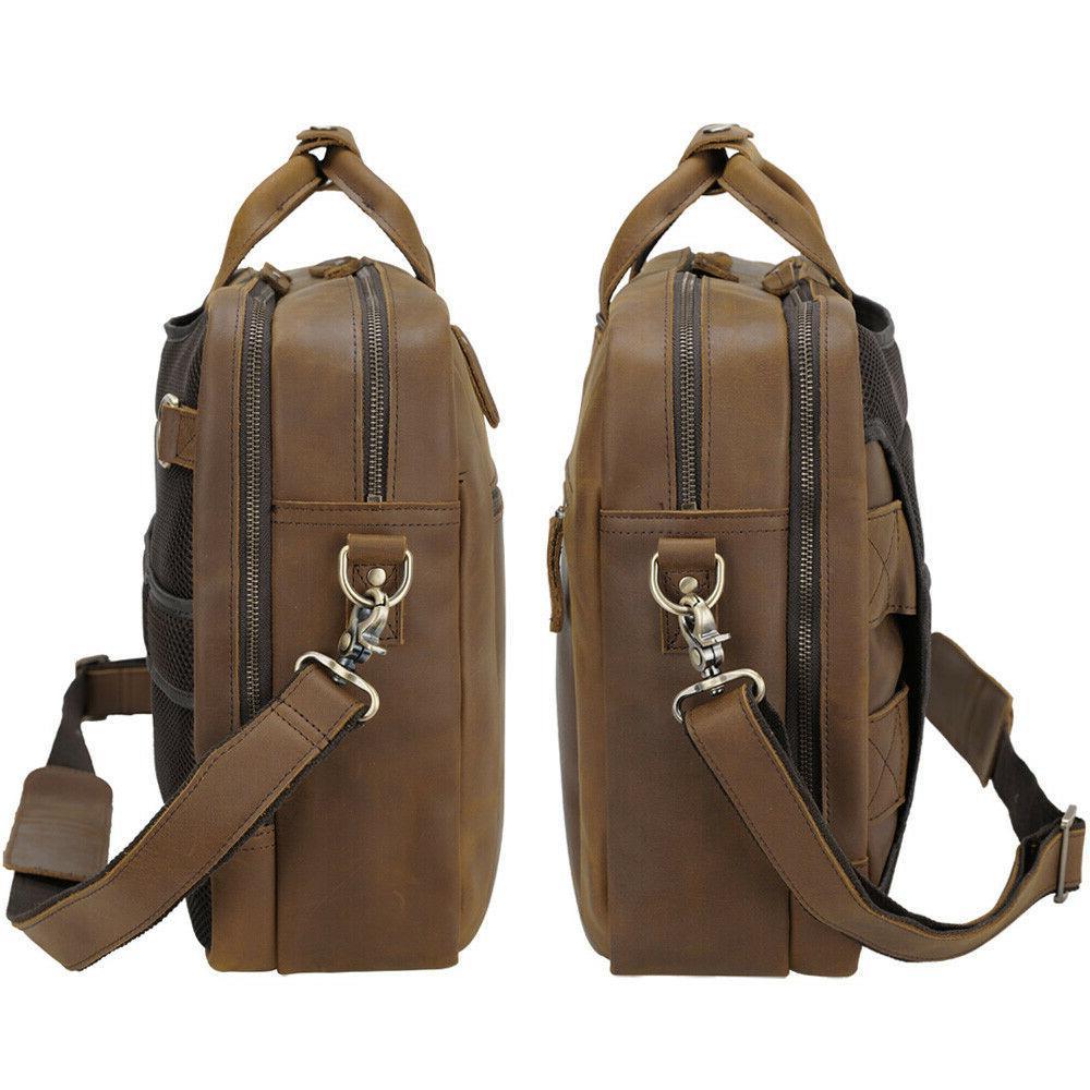 Laptop Briefcase School Shoulder Daypack