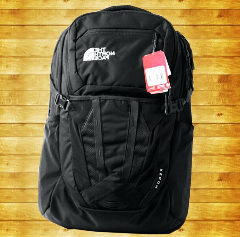 Men's Backpack North Face's Recon 30L Black-TNF Color School