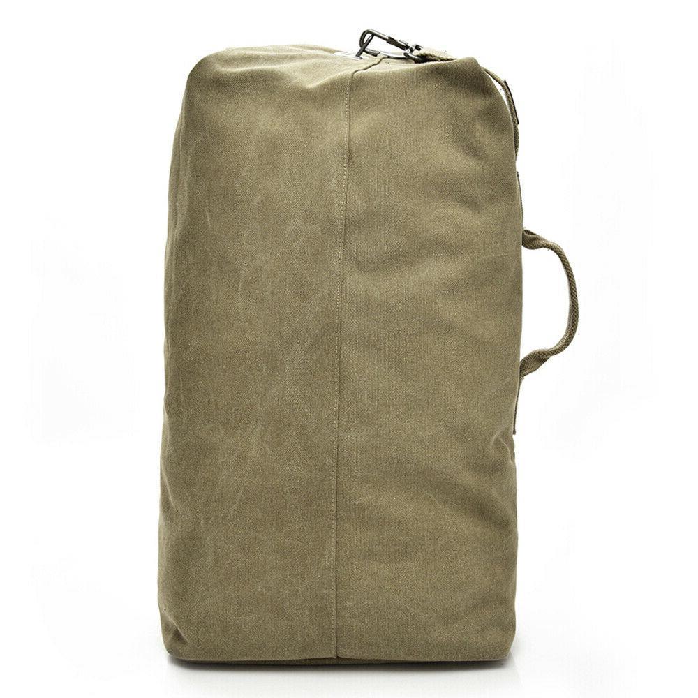 Men's Canvas Hiking Travel Bag Military Handbag