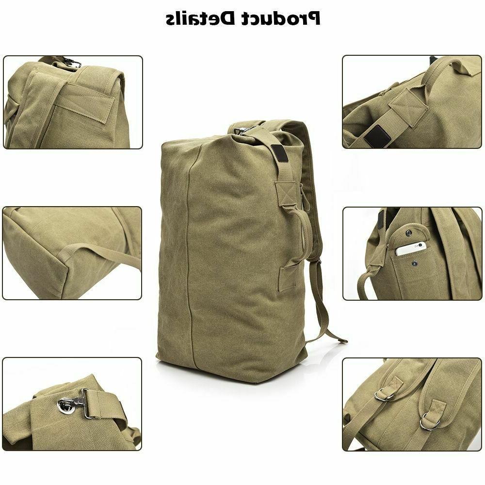 Men's Backpack Rucksack Hiking Military