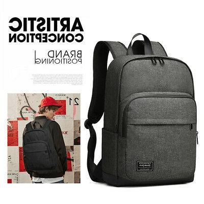 men s canvas large backpack travel hiking
