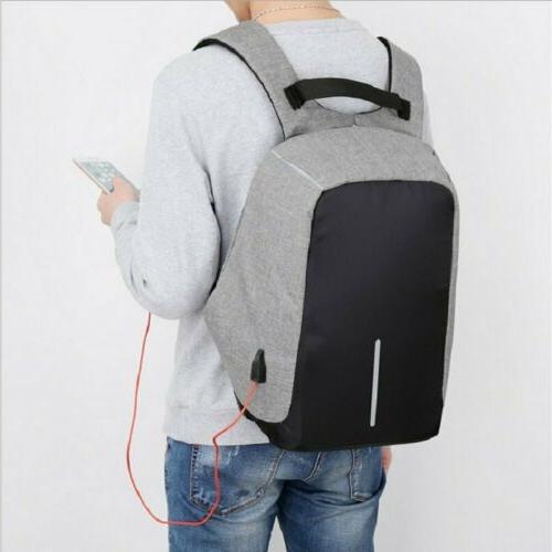 Men's multifunctional Anti-Theft Laptop School Bag