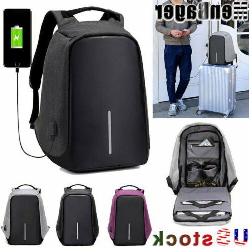 men s multifunctional anti theft backpack laptop