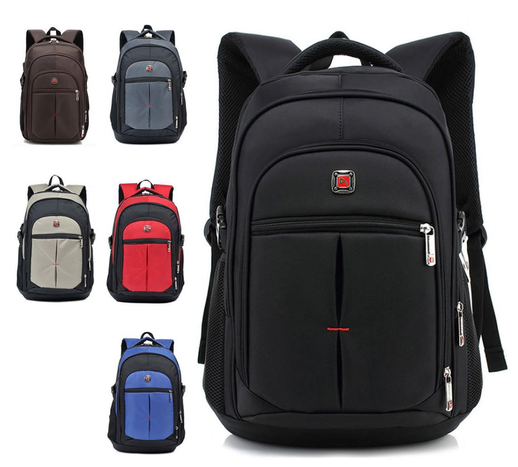 Men's Travel Rucksack Notebook Laptop Swiss Hiking Notebook