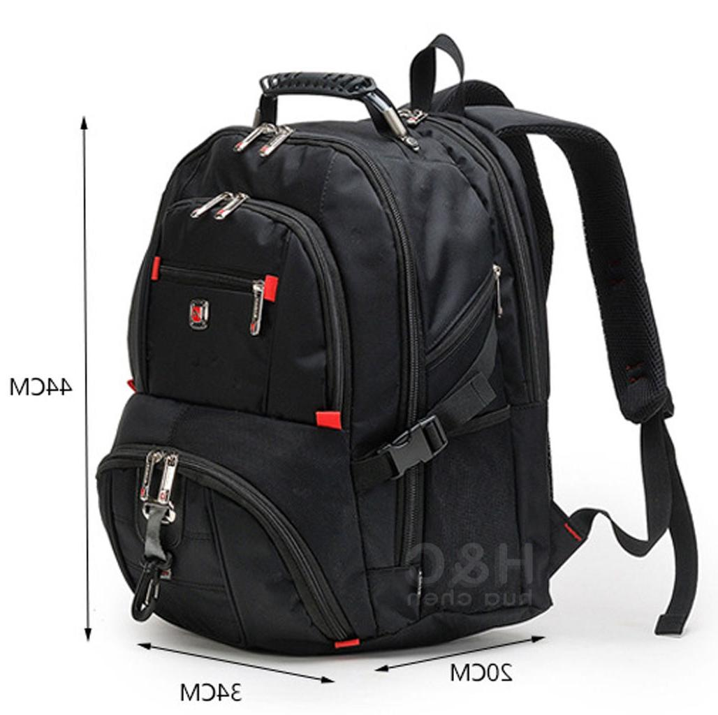 """Men's Travel Sport Rucksack 15"""" Backpack Shoulder"""
