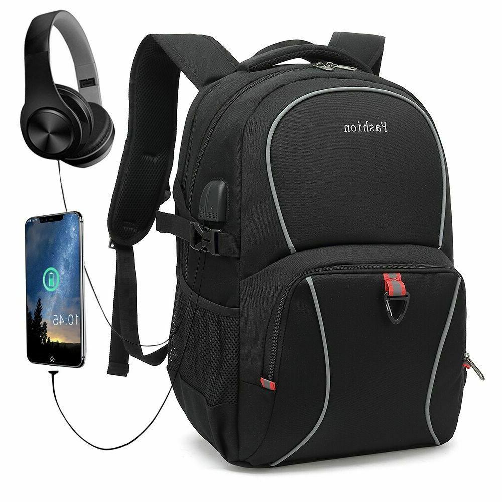 men s waterproof backpack school bag book