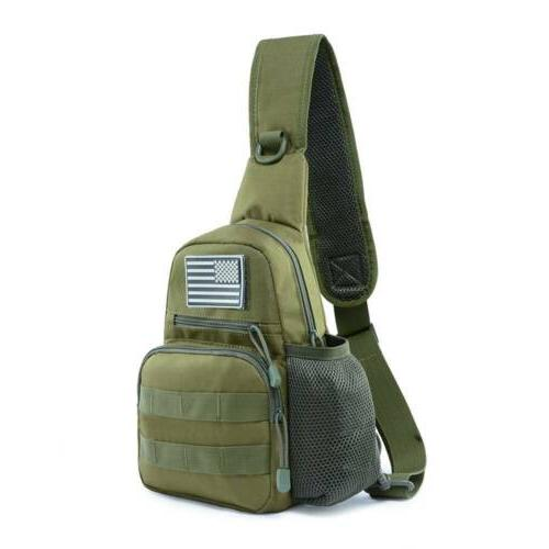 Men Shoulder Messenger Military
