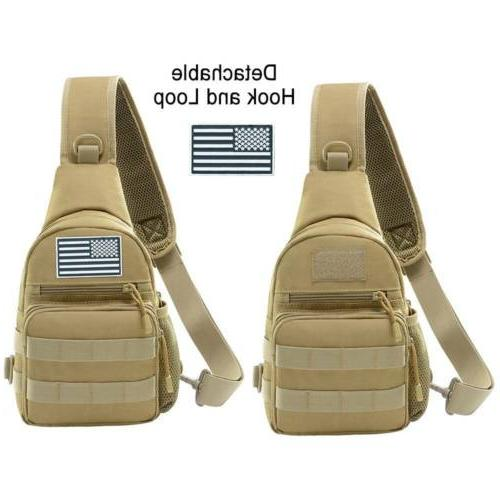 Men Shoulder Bags Hamburg Chest Pack Military Tactical