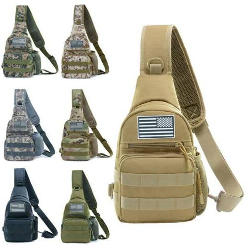 Men Messenger Bags Hamburg Chest Pack Military Backpack