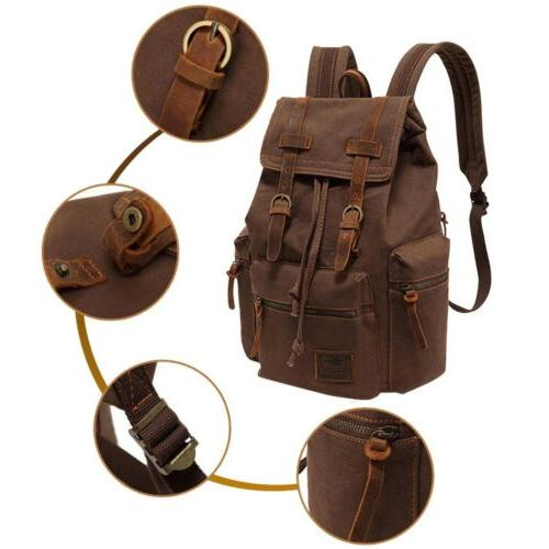 Men Women Travel Rucksack School Laptop