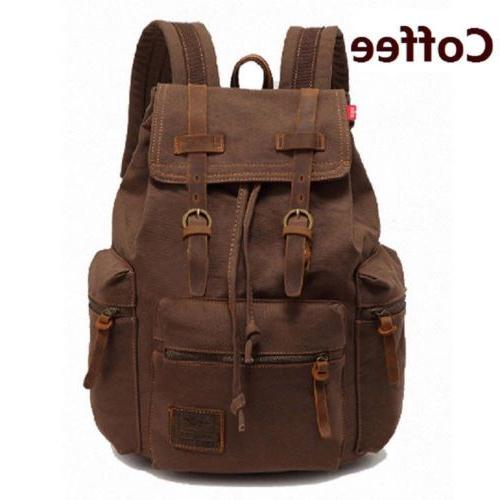 Men Travel Sport Bag School Bookbag Backpack