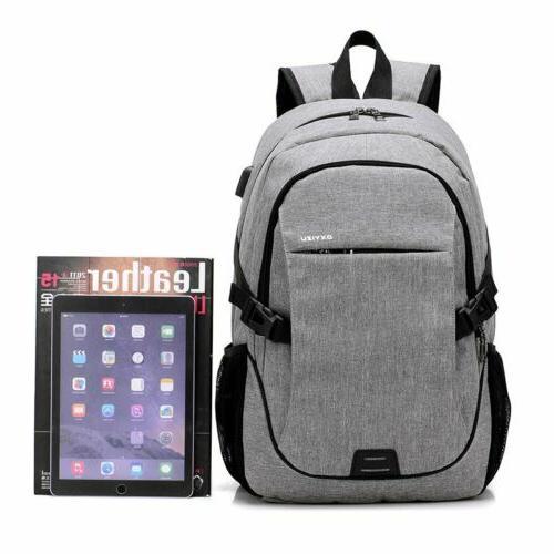 Mens Travel Shoulder Laptop Backpack Notebook
