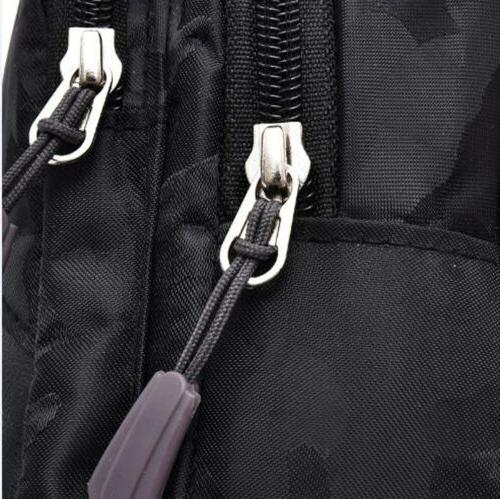 Mens Chest Casual Travel Sling Bags