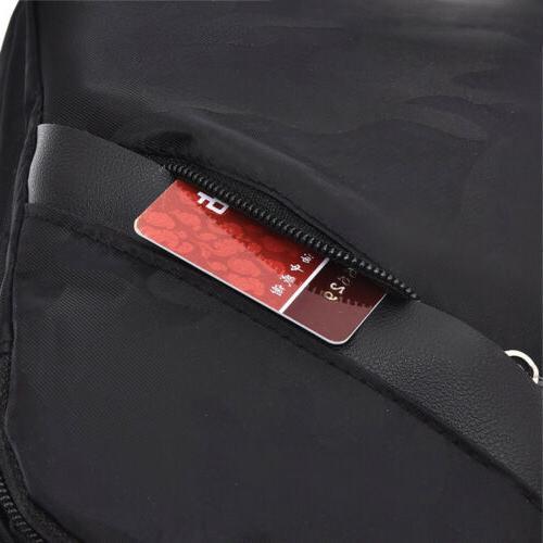 Mens Chest Casual Backpack Sling Shoulder Bags