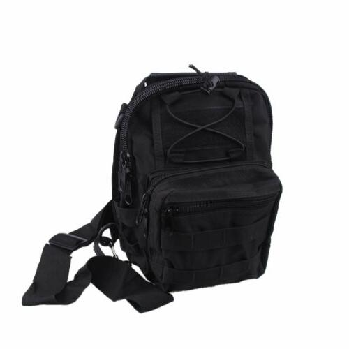 Mens Outdoor Sling Tactical Crossbody Pack Sports Chest