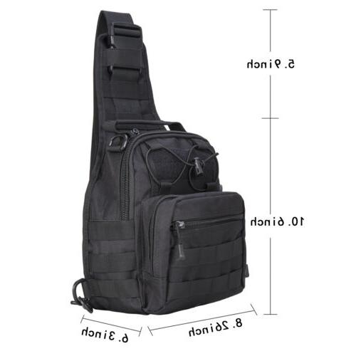 Tactical Backpack Travel Pack Chest