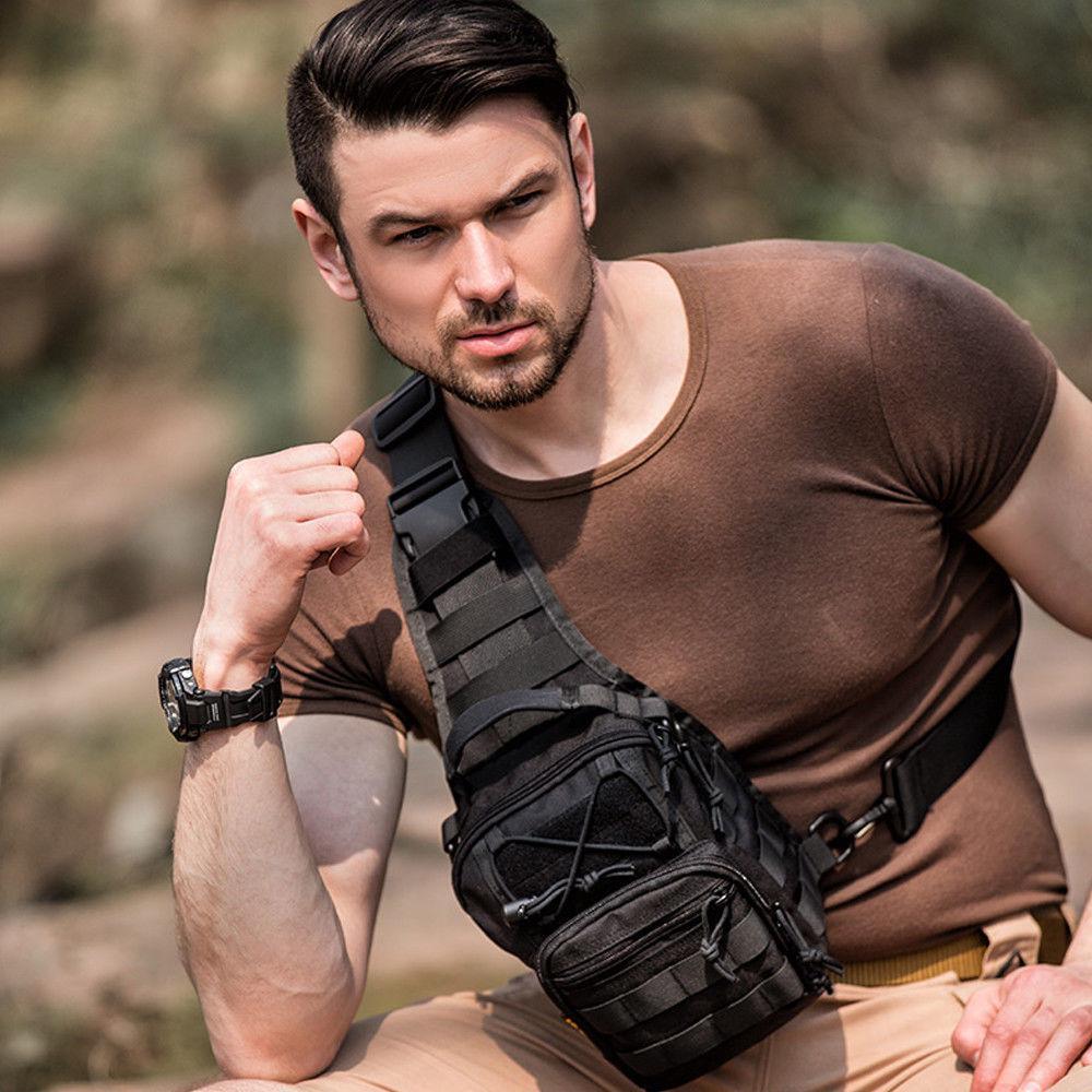 Mens Military Camping Hiking Backpack