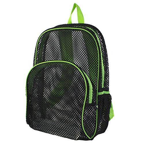 Eastsport Mesh Backpack with Contrast Trim