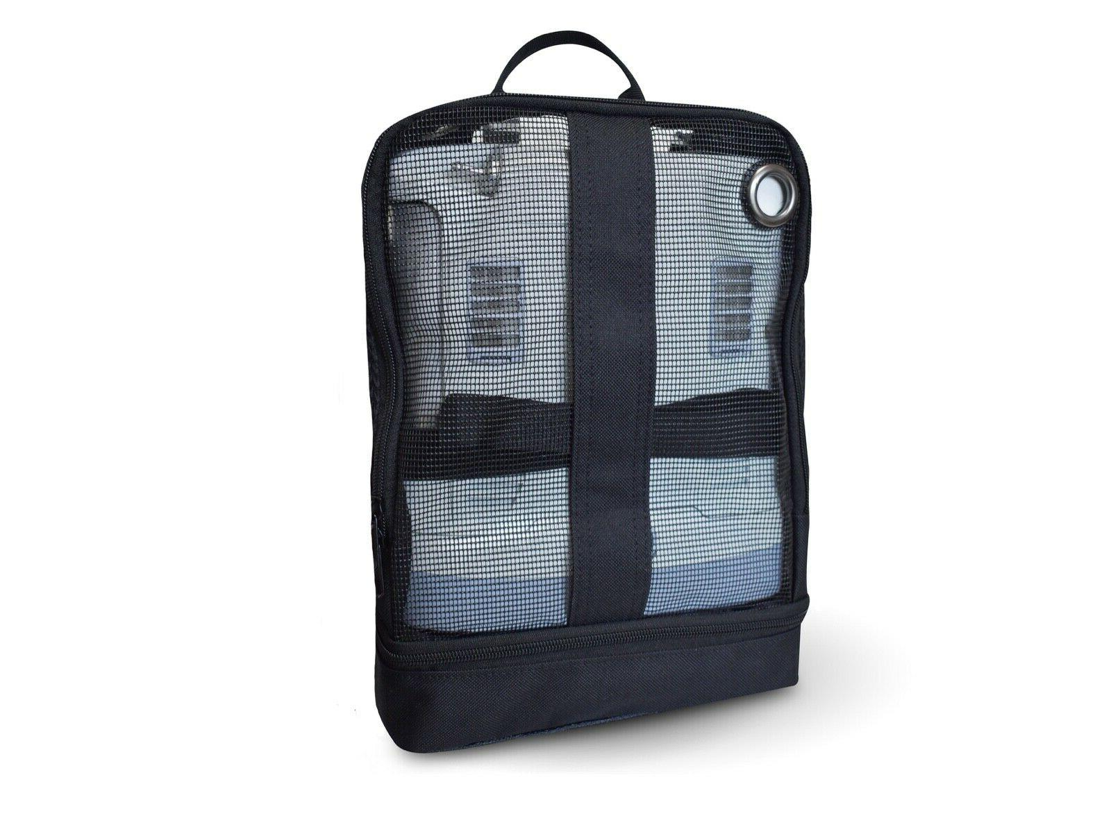 mesh backpack for oxygen concentrator inogen one