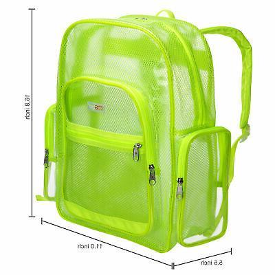 MGgear Mesh & PVC School Backpack