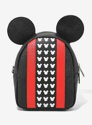 mickey mouse loungefly mini backpack new