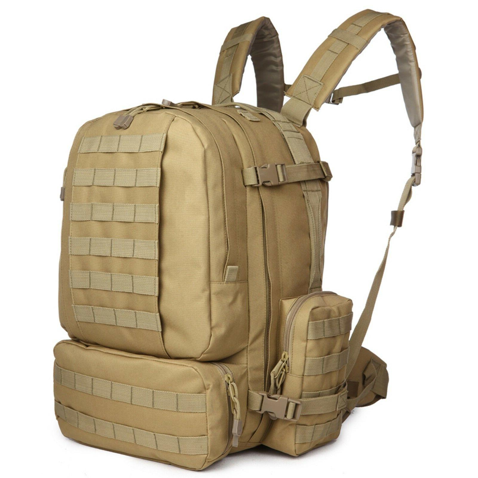 ARMYCAMOUSA  Military Rucksacks Tactical Molle Backpack Big