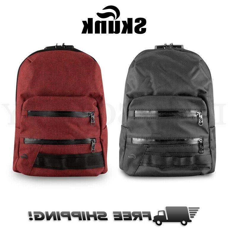 mini backpack smell proof odor proof stash