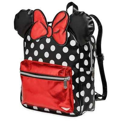 minnie mouse dots backpack new
