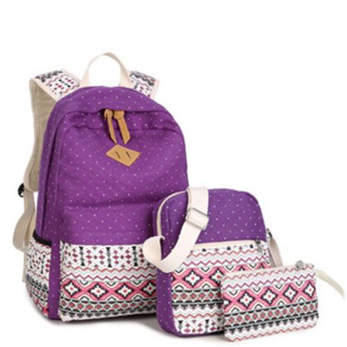 New Canvas Bookbags School Bags
