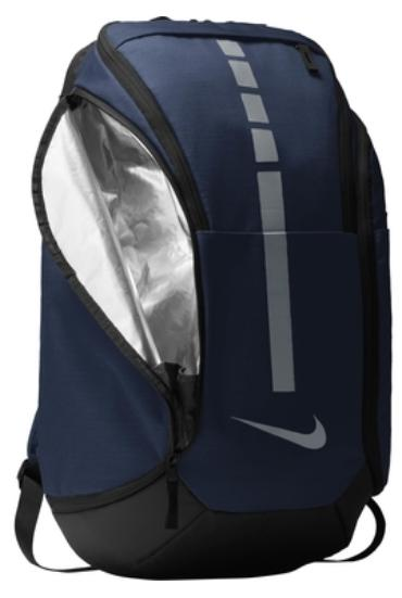 new elite hoops pro basketball backpack navy