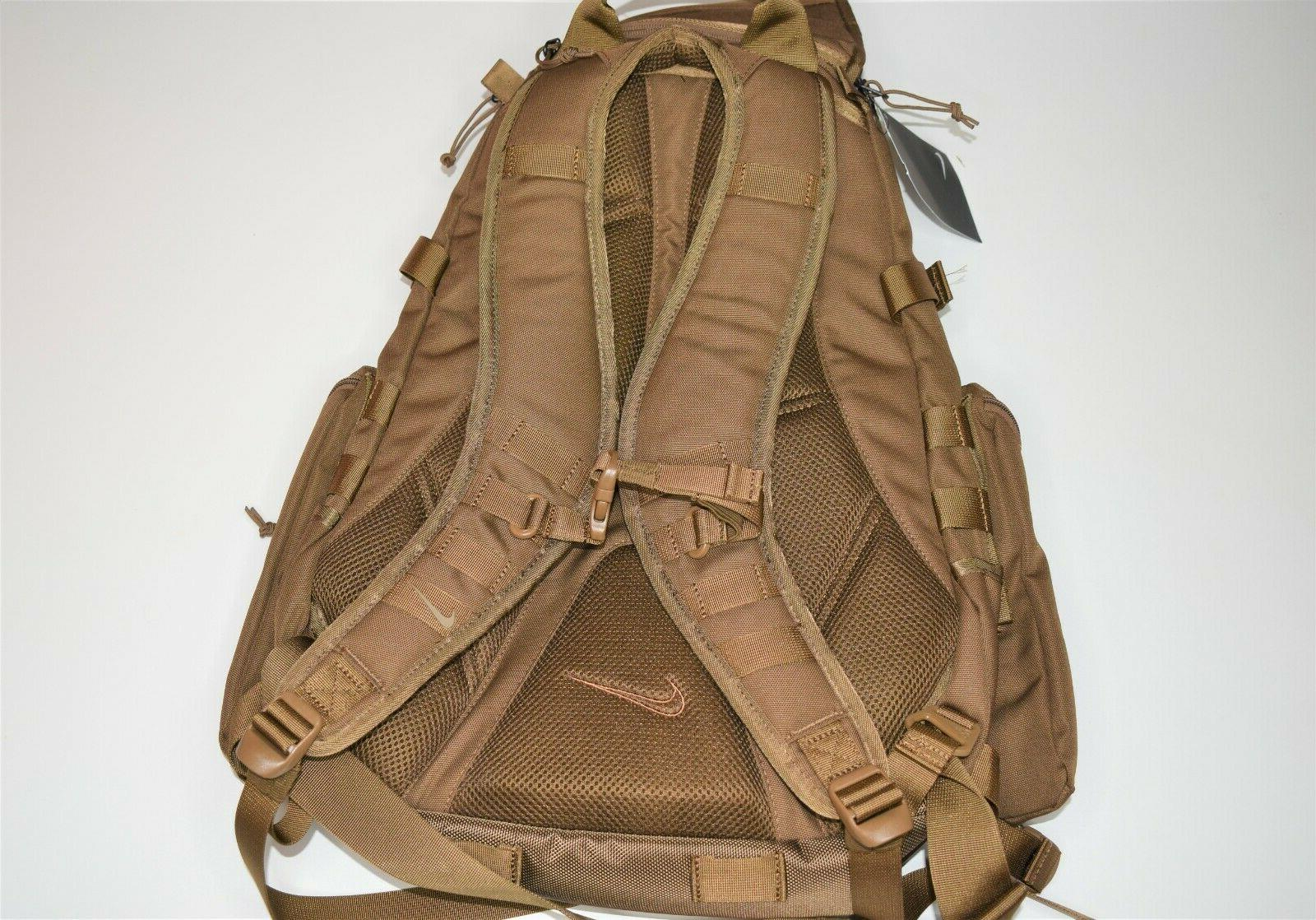 New Nike Backpack BA4886-222 Military Brown MSRP:$150