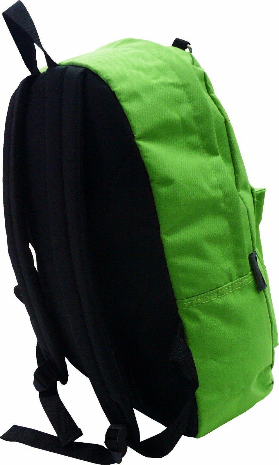 New Solid Emoji School Backpack Travel / Hiking Bag
