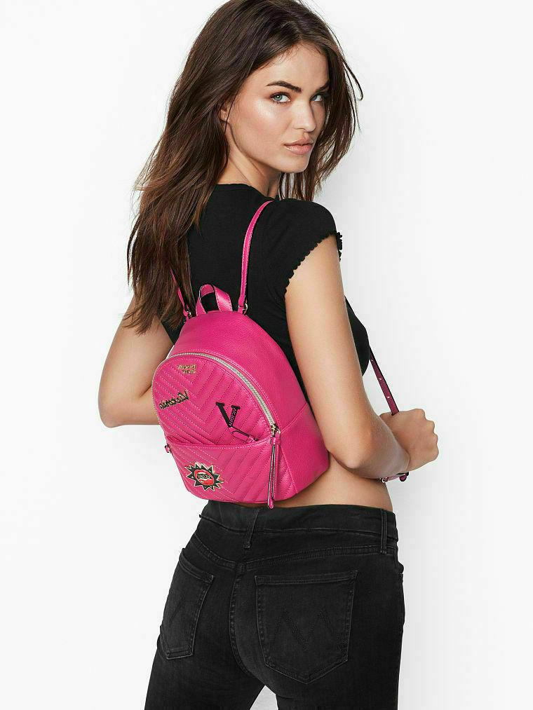 NEW Victoria's V-Quilt Backpack FREE 2DAY DELIVERY