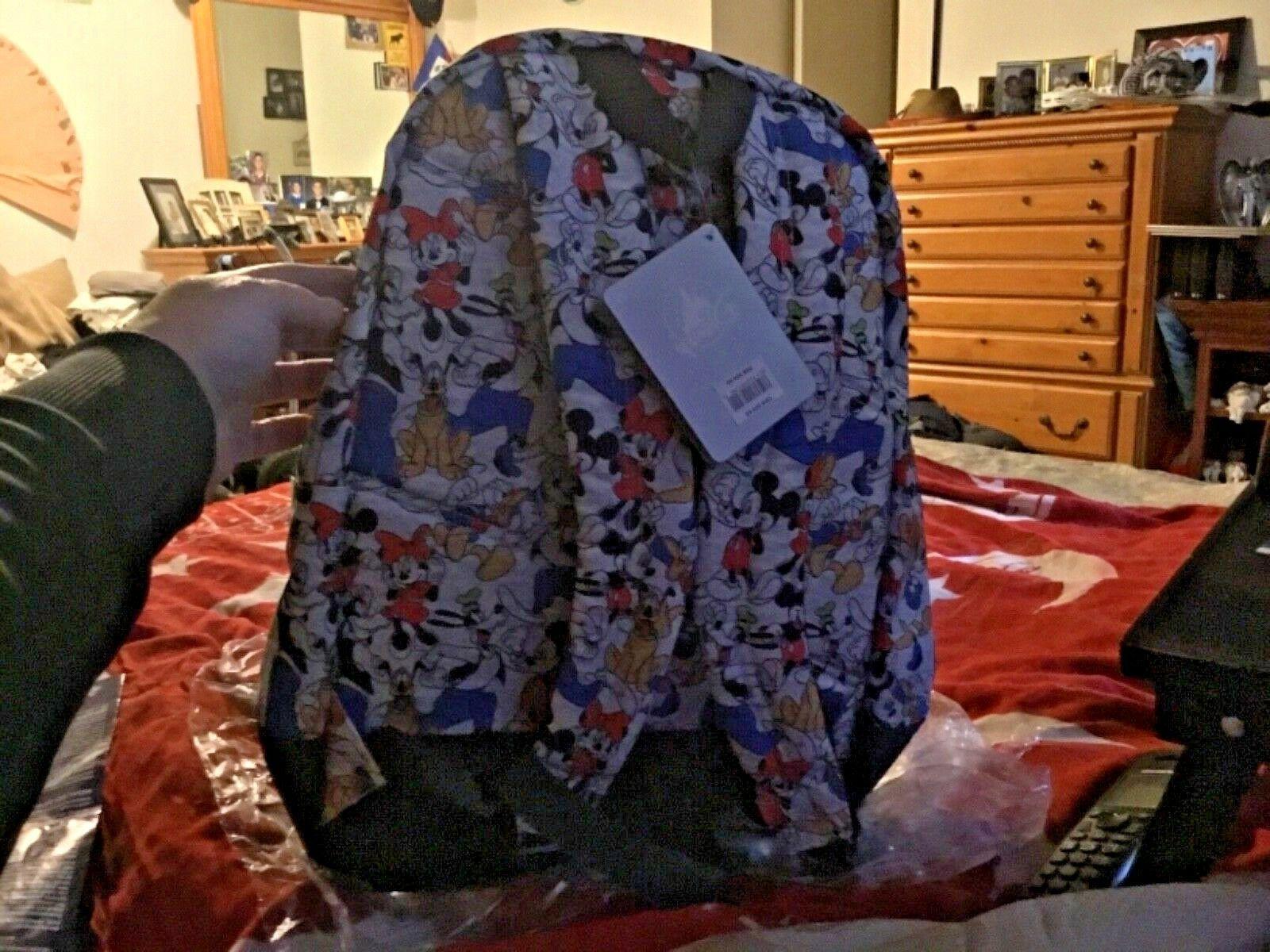 New tags, Disney Store Backpack. Minnie, Goofy, Donald Kids
