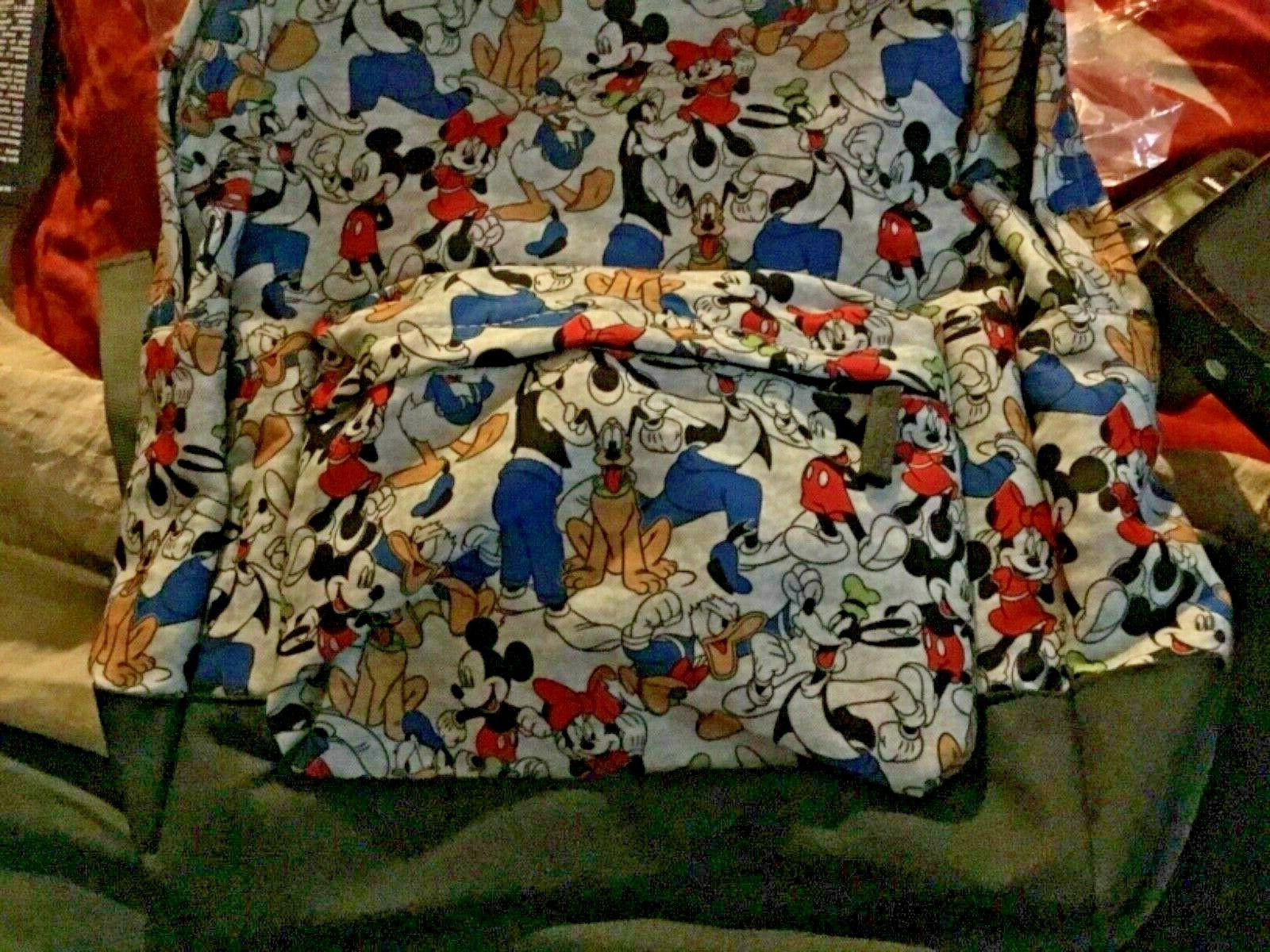 Store Backpack. Minnie, Goofy, Donald