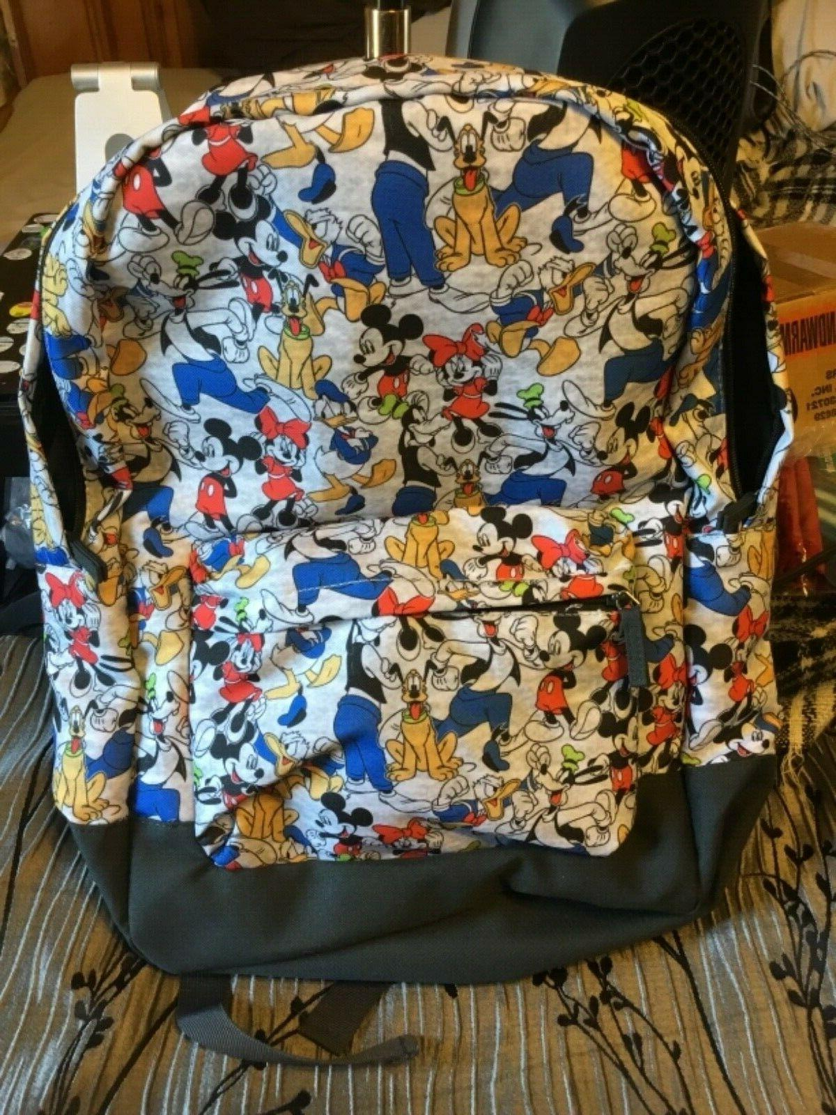new with tags store backpack mickey minnie