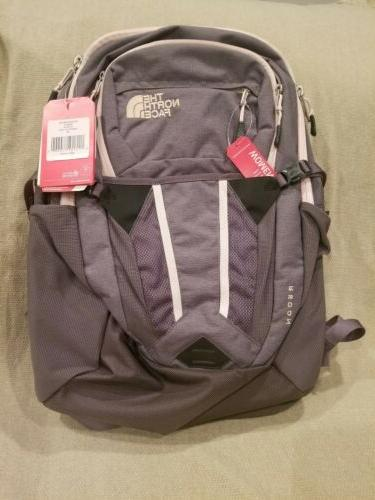 new womens recon backpack nf0a3kv2bx9 os gray