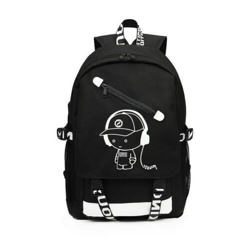 Night Luminous Laptop Bag Bags With