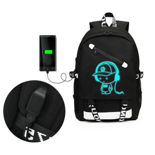 Night Anti-Theft Laptop Bag Bags USB