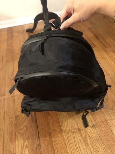 NWT LULULEMON All Hours Backpack Zip Black