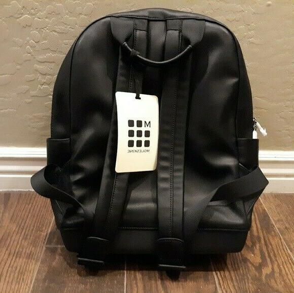 nwt mens backpack black electronics bag