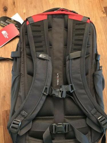 "NWT North Face Recon Backpack 15"" Bag Red"