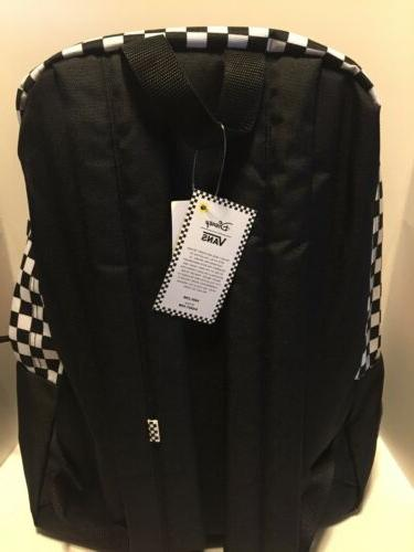 NWT VANS PUNK MICKEY BACKPACK School Bag Travel BLACK MULTI