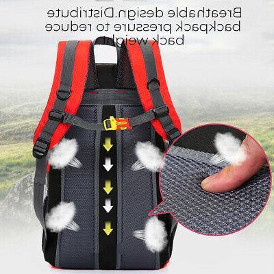 Nylon Sports Backpack Hiking Laptop School