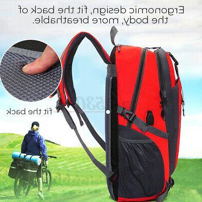 Nylon Travel Shoulder Backpack