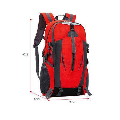 Nylon Shoulder Backpack Laptop School Bag